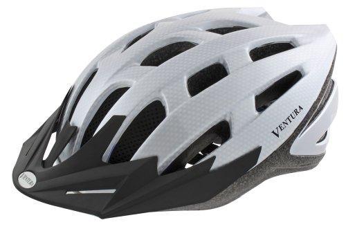 White Carbon Sport Helmet L (58-61 cm)