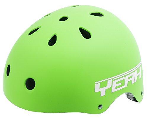 Yeah! Matte Green Freestyle Helmet L (58-61 cm)