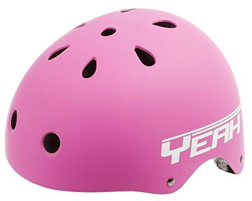 Yeah! Matte Pink Freestyle Helmet M (54-58 cm)