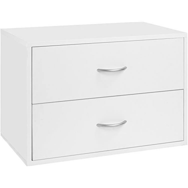 Organized Living 7315-0224-11 2 Drawr Unit Wht