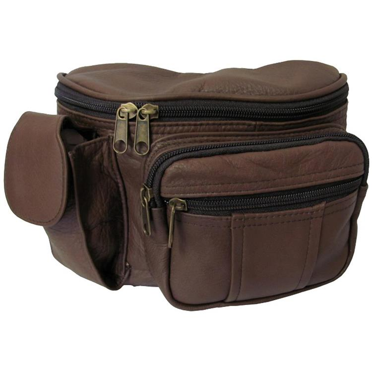 Amerileather Leather Cell Phone/Fanny Pack