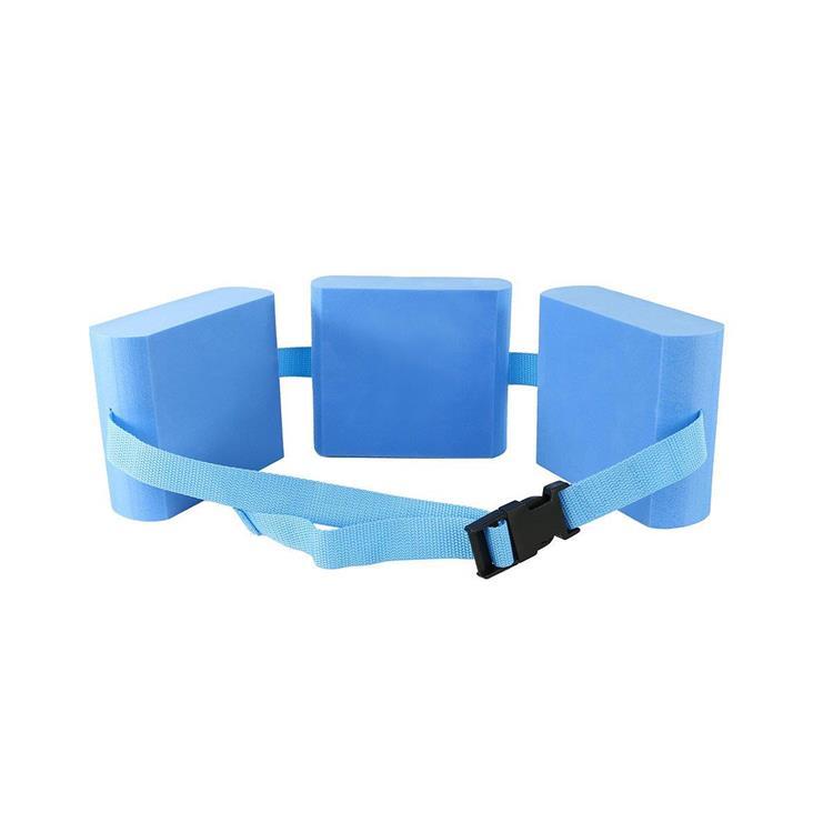 CanDo® swim belt with three oval floats, blue