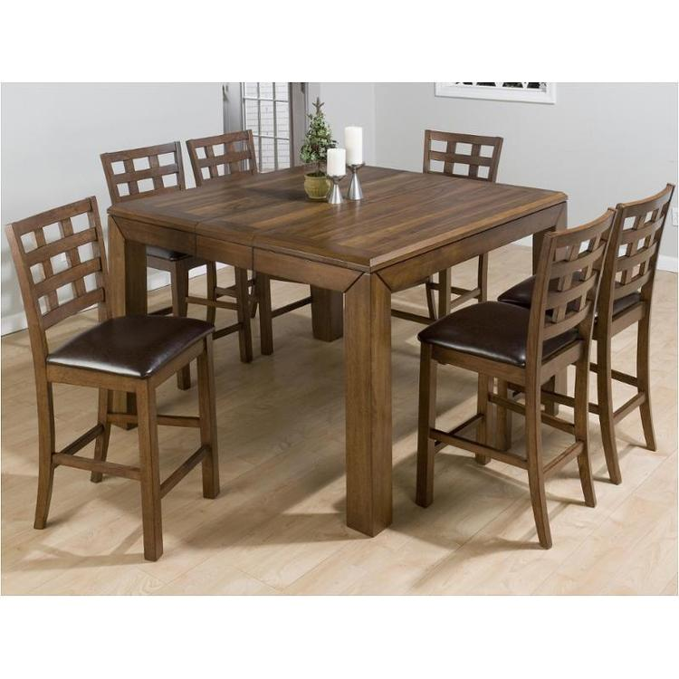 Wenatchee Falls Walnut Finished Counter Height 40mm Butterfly Leaf Table
