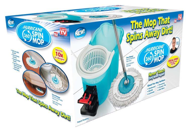7384-2 Hurricane Spin Mop