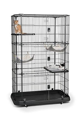 Prevue Pet Products Premium Cat Home With 4 Levels