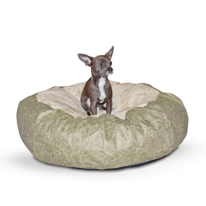 Self Warming Cuddle Ball Pet Bed