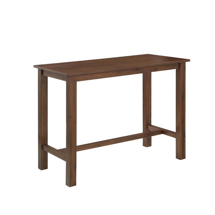 Boraam Sonoma Table, Chestnut Wire-Brush [Item # 75126A]