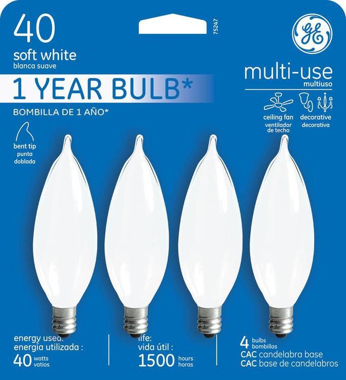 GE Lighting 75247 Bulb 40Cacfcf4-Mpd