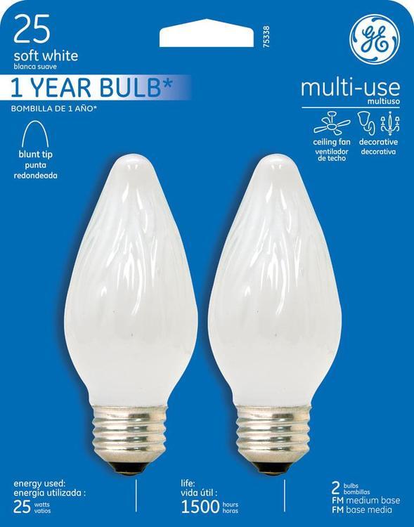 GE Lighting 75338 Bulb 25Fmwcf2-Tp4