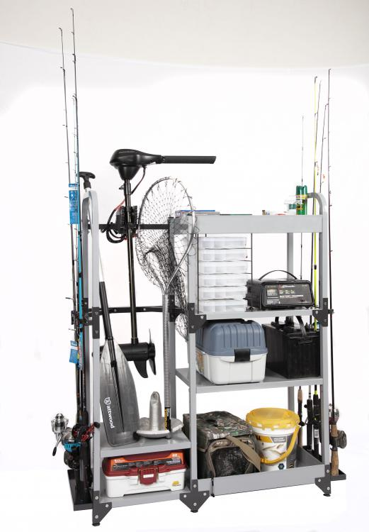 American Furniture Classics Tuff Stor Model 753 Heavy-Duty Metal Multi-Sport Organization and Storage Rack