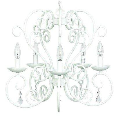 Chand - 5-arm - Carriage - White