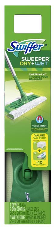 75725 Wet/Dry Sweeping Kit
