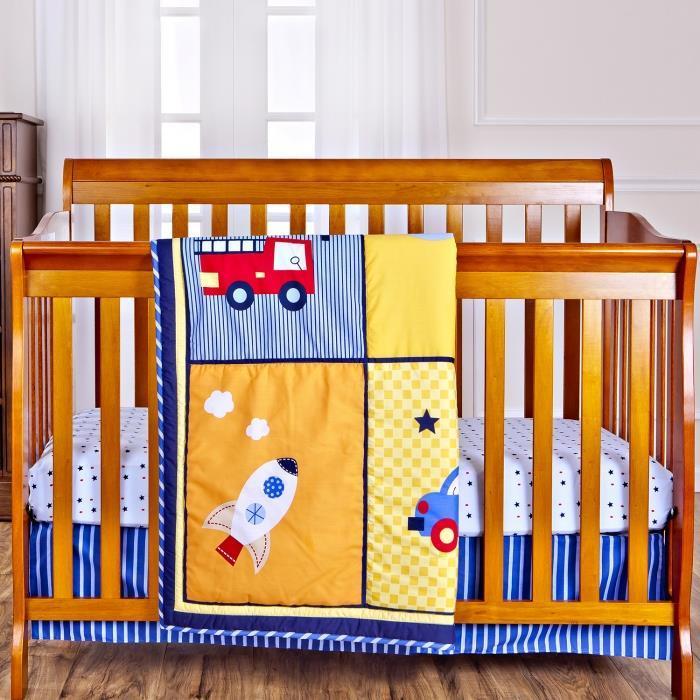 Dream On Me On The Go 3 Piece Reversible Crib Set
