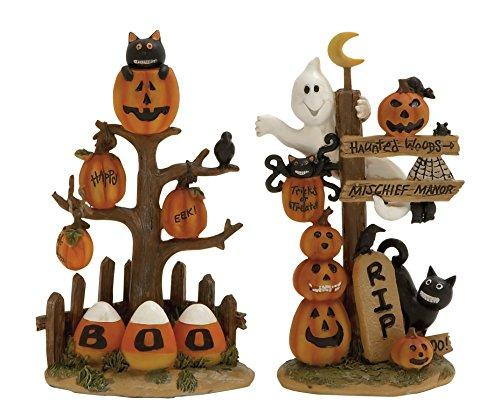 Captivating 2 Assorted Halloween Sign