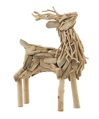 Creatively Styled Driftwood Deer