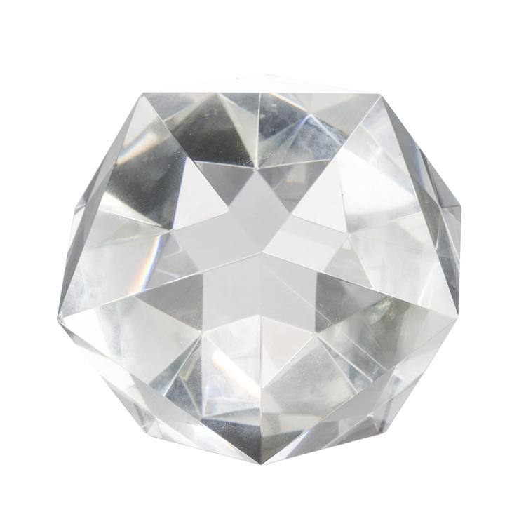A&B Home Polygon Crystal Decorative Accent