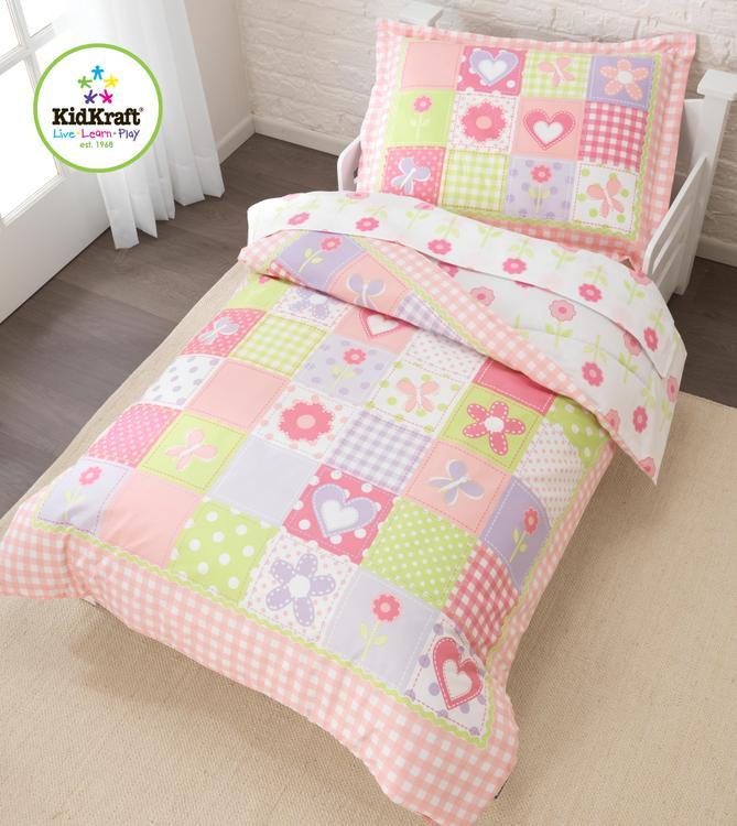 Dollhouse Cottage Toddler Bedding Set