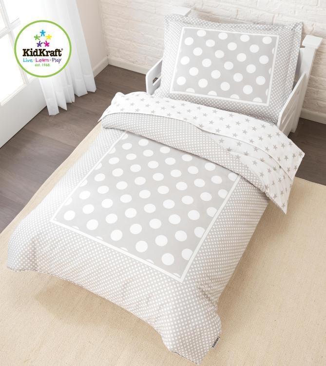 Stars & Polka Dots Toddler Bedding Set