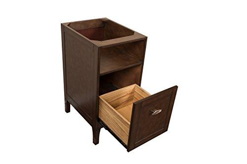 16 in Cabinet-wood-sable walnut