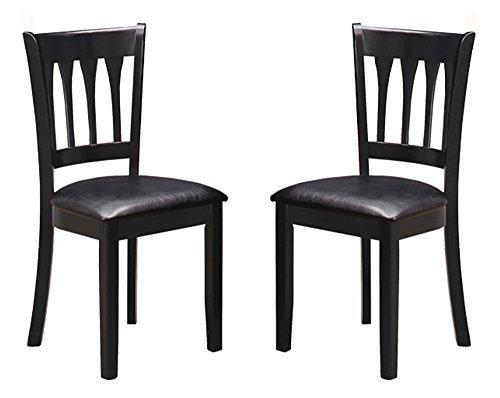 Milton Green Stars Bilbao Dining Chair (Set of 2), Black