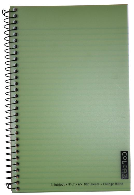77387-12 Notebook 3Sub Colorz