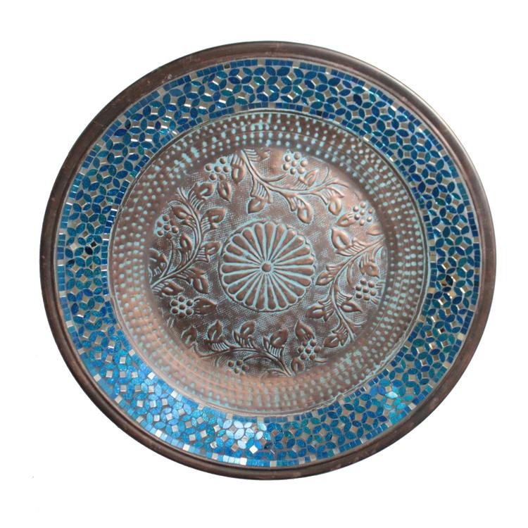 Mosaic Metal Wall Plate