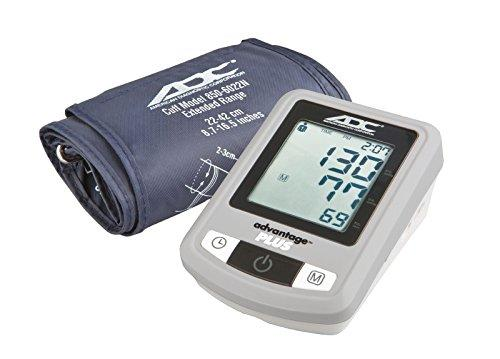 ADC Advantage Plus Automatic Digital Blood Pressure Monitor, Adult, Navy - [77-0018]