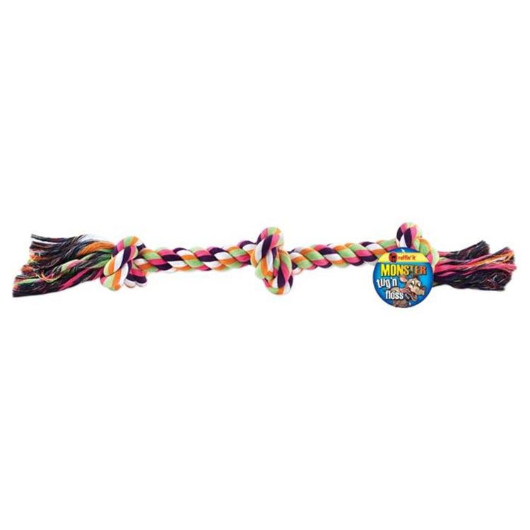 Monster Tug 'N Floss Rope 24