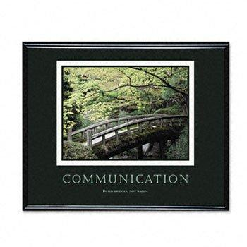 Communication, Framed, 30