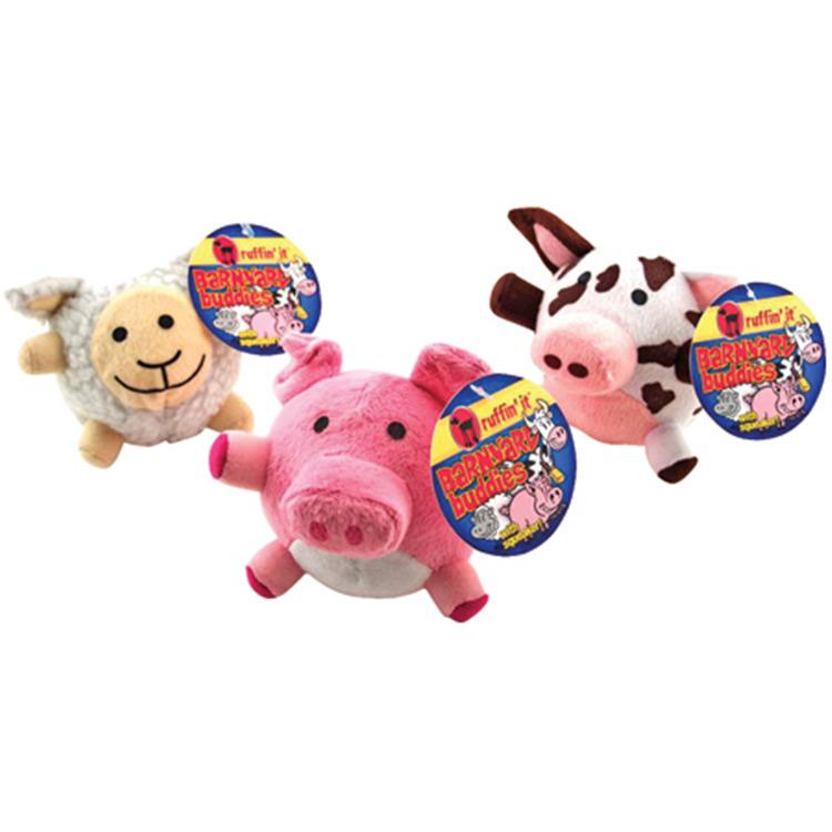 Barn Yard Buddies Dog Toy