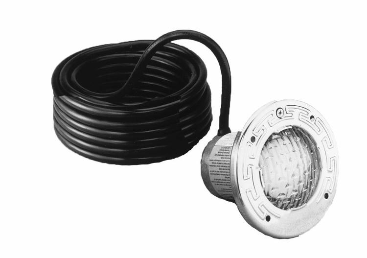 Stainless Steel SpaBrite Incandescent Light for Swimming Pool 12-Volt 100-Watt, 50-Feet