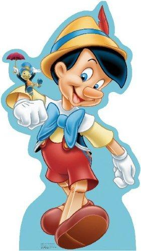 Pinocchio and Jiminy Cricket