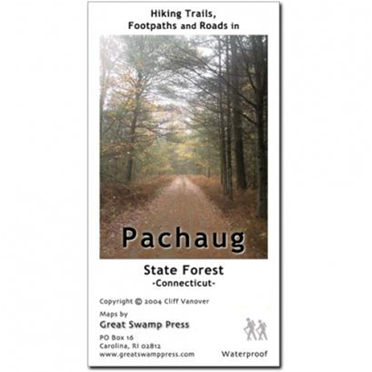 Pachaug St Forest Trail Map Ct