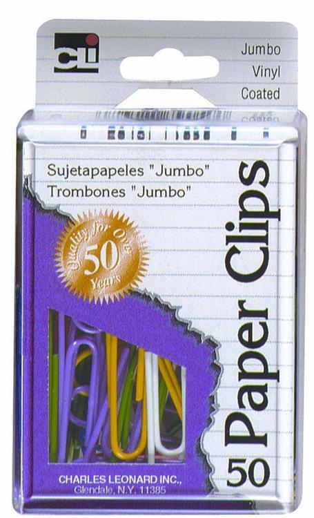 Charles Leonard Inc. 79050 Paperclip Vyn Coat Jum50