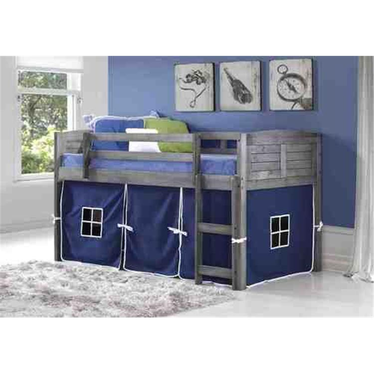 Donco Kids Louver Low Twin Loft Bed [Item # 790-AAG_750C-TB]