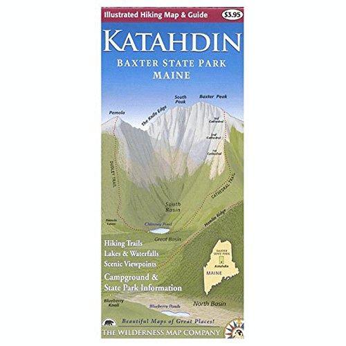 Katahdin Map/Guide, 2Nd Ed.