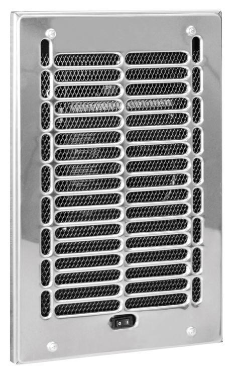 79241 Wall Heater 1000W Chrome