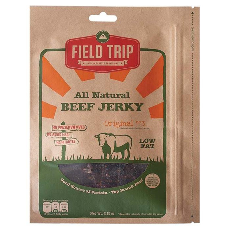 Original No 3 Jerky 2.2 Oz