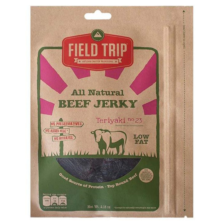 Teriyaki No 23 Jerky 2.2 Oz
