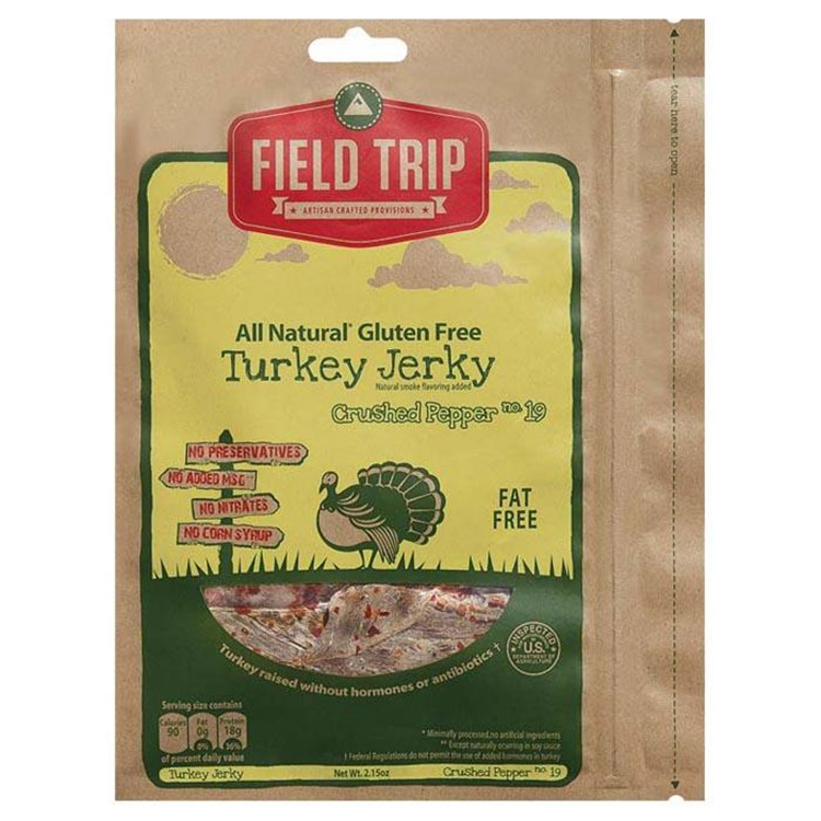 Cracked Pepper Gf Turkey Jerky