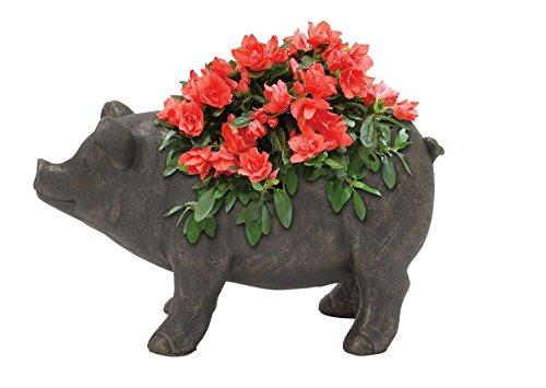 Ps Pig Flower Pot 18
