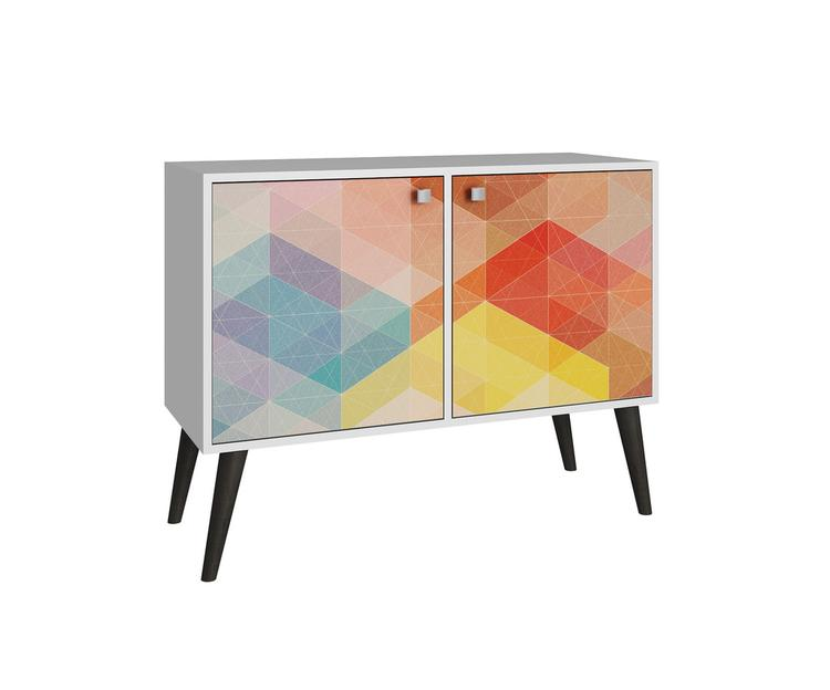Manhattan Comforts Avesta Double Side Table 2.0 Collection [Item # 7AMC131]