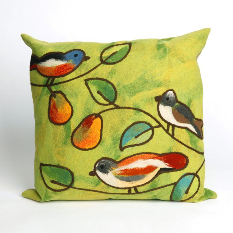 Visions III Song Birds Pillow