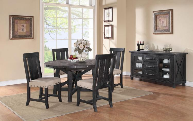Yosemite Solid Wood Round Extension Table