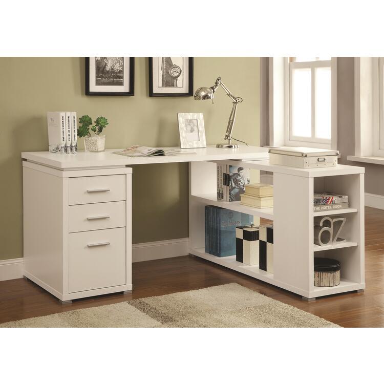 Coaster Yvette White Office Desk