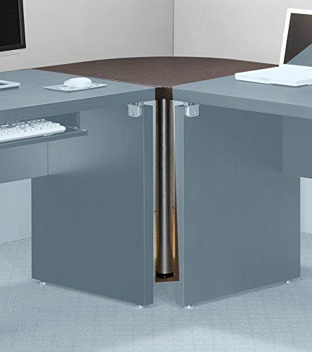 Coaster Skylar Cappuccino Corner Table