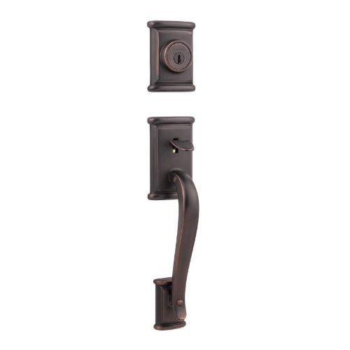Kwikset 800ADHLIP-11PS Ashfield Single Cylinder Exterior Handleset Smart Key Venetian Bronze Finish