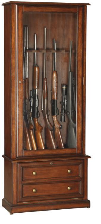 American Furniture Classics Model 800 Classic 8 Gun Cabinet