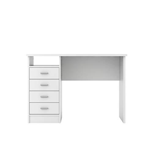 Tvilum Warner Desk with 4 Drawers