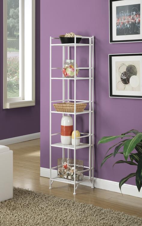 Convenience Concepts 5 Tier Folding Metal Shelf